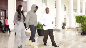 Kanye West and Kim Kardashian will elevate Uganda's negotiating power