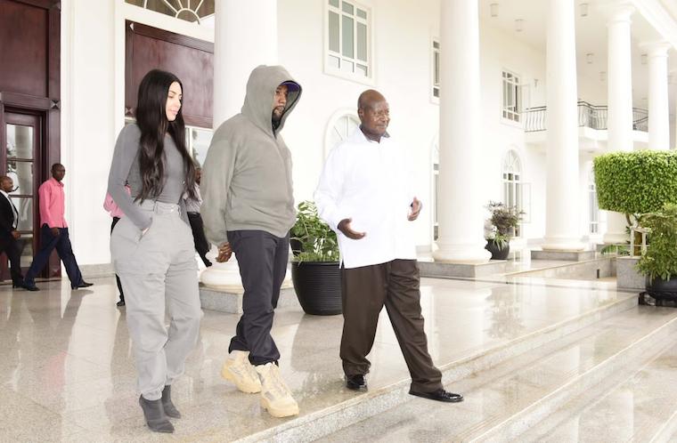 Kanye West and Kim Kardashian will elevate Uganda's negotiating power